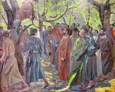 Saturday Luke Zacchaeus was trying to see who Jesus was, but on account of the crowd he could not, because he was short in stature. So he ran ahead and climbed a sycamore tree to see him, because he was going to pass that way. Zacchaeus Bible Story, Bible Commentary, Life Of Christ, Great Awakening, Good Day Song, Praise The Lords, Bible Stories, Nice View, The Book