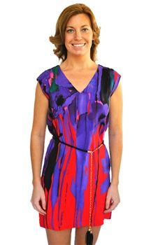 """Akiko Belted Shift Dress!  Get yours today at www.lashclothing.com.  Use coupon code """"LASH20"""" for 20% off your order!"""