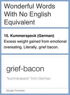 No English Equivalent