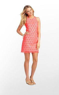 Pearl Dress in Fiesta Pink Pinwheel Organza $348 (w/o 4/7/13) #lillypulitzer #fashion #style