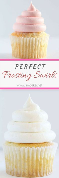 Perfect Frosting Swirls Piping the perfect frosting swirl has never been easier!