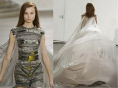 "Antonio Berardi ""Parachute dress"" (worn by Lady Gaga in her ""Poker Face"" music video)"
