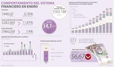 Comportamiento del sistema #Financiero en enero vía @larepublica_co