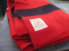 Four-point Hudson Bay blanket.  I only need it maybe 2-3 nights a year, but when I do, boy am I glad I have it!.