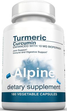 Making Lemonade Out Of Lemons - Tracy's Product Opinions: Alpine Turmeric Curcumin 1500mg with BioPerine 95%...