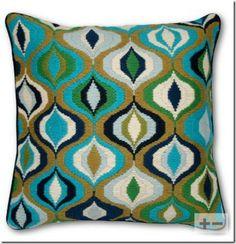 Jonathan Adler Bargello Waves Pillow in For Her