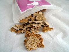 :: Vanilla Cinnamon Buckwheat Crispies   inspired by One Lucky Duck ::