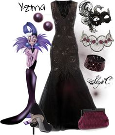 """""""Yzma Inspired Outfit"""" by rubytyra on Polyvore"""