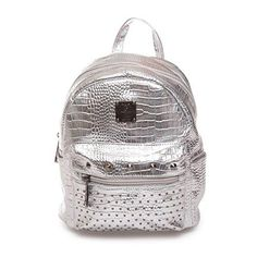 Oferta: 24.05€. Comprar Ofertas de The fashion bags - Bolso mochila  de Charol para mujer plateado plata barato. ¡Mira las ofertas!