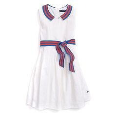 Tommy Hilfiger little girls' dress. How cute is this?