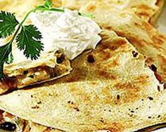 Chicken and Vegetable Quesadilla