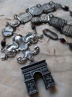 'monumental' necklace by The French Circus on Etsy