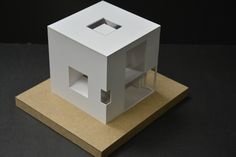 """First design of house in my life - a capsule house concept by 'Depressed""""."""