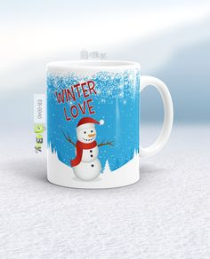 Winter Love Have A Beautiful, Stylish Designed Mug For Yourself And Your  Loved Ones.