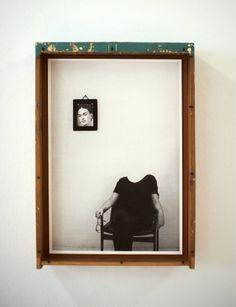 Joana Astolfi Self Portrait with Frida Técnica Mista 54 x 38,5 cm 2013