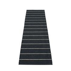 Linn - Black · Vanilla, Plastic rug 70 cm wide. Skapad med passion och stolthet i sverige av Pappelina.
