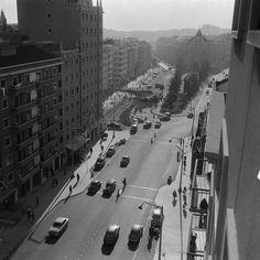 Praça de Londres e Avenida de Roma nos anos 50 Arquivo Municipal de #Lisboa / núcleo Fotográfico Benoliel, Judah.