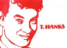 Let's all give T.Hanks for this Tom Hanks thank you card from Blue Barnhouse.