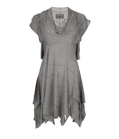 Dore Dress - $140.00 Sleeveless, signature AllSaints deconstructed dress made from specially developed jersey. The Dore dress is constructed on the stand using strips of jersey to create shape and features a slight cowl neck, external seams and raw edge finish.