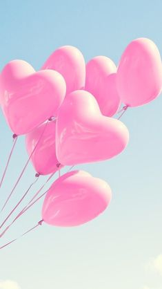 Image shared by Sony Domm. Find images and videos about pink, heart and wallpaper on We Heart It - the app to get lost in what you love. Pink Balloons, Heart Balloons, Wedding Balloons, Pink Wallpaper, Wallpaper Backgrounds, Phone Backgrounds, Glitter Wallpaper, Heart Wallpaper, Pink Love
