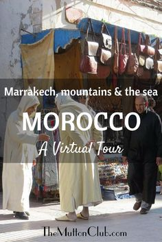 Get lost in a Marrakech souk, walk the sea walls at Essaouira, hike the high Atlas Mountains and watch the snake charmers in Jemaa el-Fnaa. Enjoy!