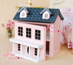 1/12 Dollhouse Miniature KIDS TOY Pink Dollhouse OT51 | Dolls & Bears, Dollhouse Miniatures, Furniture & Room Items | eBay!