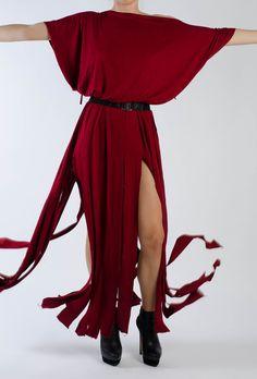 Katja Dress RED Alien