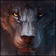 The Lion by Exileden.deviantart.com on @deviantART