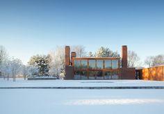 Louis Kahn | Korman House | Fort Washington, Pennsylvania | 1971-1973 WEB DE LA PROPIA CASA KORMAN