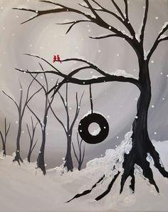 Winter Swing in the Park