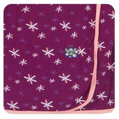 Kickee Pants Newborn Swaddling Blanket- Melody Snow