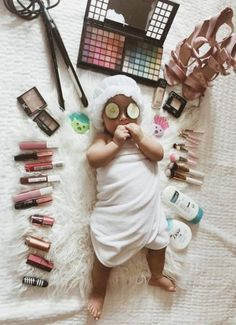 52 Ideas baby pics newborn girl for 2019 Monthly Baby Photos, Baby Girl Photos, Cute Baby Pictures, Newborn Pictures, So Cute Baby, Baby Kind, Baby Monat Für Monat, Newborn Shoot, Baby Newborn
