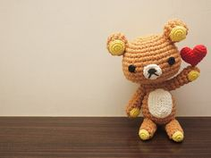 Rilakkuma amigurumi crochet