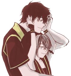 Zuko/Toph by telos0 i love these two considering the badass but totz downer mai is just...meh