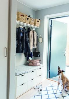 Ikea Hall, Love Your Home, Home Interior Design, New Homes, House Design, Organization, Storage, Furniture, Home Decor