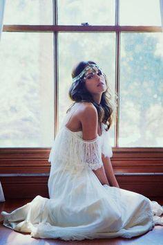 Vestidos de novia: boho chic | Preparar tu boda es facilisimo.com
