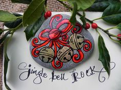 Jingle Bell ROCK / Painted Rock