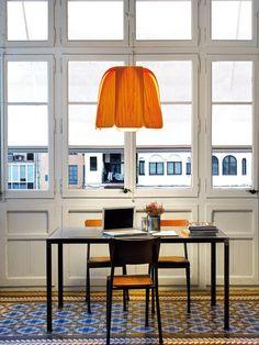 Lámpara de techo de madera, de LZF