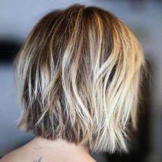 Short Layered Haircuts for Thin Hair