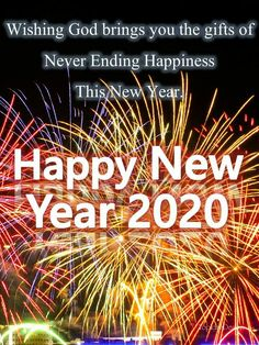Happy New Year 2020, Bring It On, Calm, God, Dios, Allah, The Lord