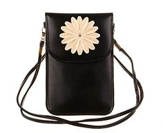 New Trending Cross Body Bags: KISS GOLD (TM) Luxury Matte PU Leather Mini Crossbody Single Shoulder Bag Cellphone Pouch (Model B-Black). KISS GOLD (TM) Luxury Matte PU Leather Mini Crossbody Single Shoulder Bag Cellphone Pouch (Model B-Black)  Special Offer: $9.99  255 Reviews This cellphone pouch is made of high quality matte pu leather , soft and durable, making it one of the most fashion and practical cellphone...