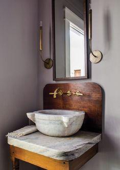 Home Interior Drawing .Home Interior Drawing Bathroom Interior, Home Interior, Interior Ideas, Interior Design, Bath Trends, Stone Sink, Tadelakt, The Design Files, Design Design