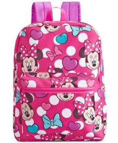 dc729451c0 Minnie Mouse Little Girls  or Toddler Girls  Backpack   Reviews - All Kids   Accessories - Kids - Macy s