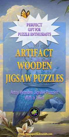 Have you heard of Artifact Wooden Jigsaw Puzzles? These are handcrafted jigsaw puzzles with a little different twist . Difficult Jigsaw Puzzles, Wooden Jigsaw Puzzles, Maze Game, Hobby Ideas, Puzzle Art, Famous Artists, Artsy, Touch, Games