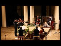 Bach - Concerto for 4 Harpsichords BWV 1065 in a (after Vivaldi) - YouTube