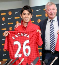 Shinji Kagawa of the Manchester United.