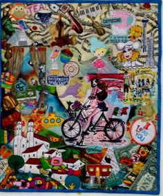 balancing act collage quilts pinterest machine quilting
