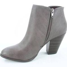 Grey (work) bootie. Need to find suede version!!!!!