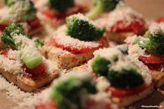 Tofu Mini Pizza lowcarb, highprotein fitnessfood