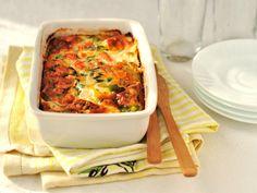 Gratin de courgettes au saumon fumé - Recette de cuisine Marmiton : une recette